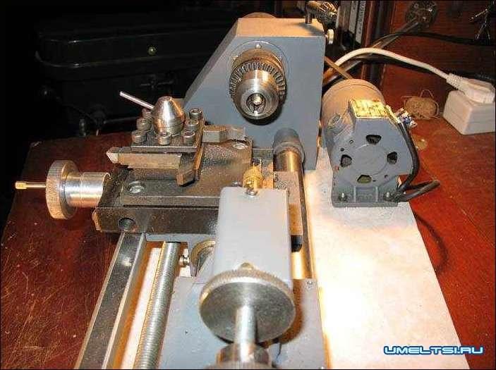 Как сделать токарный станок для металла своими руками